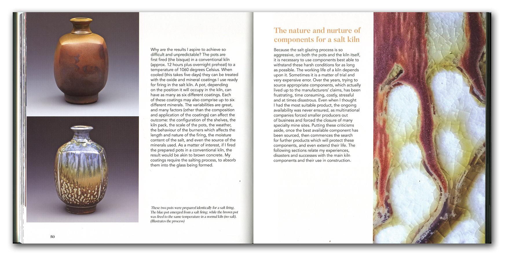 Páginas interiores del libro dedicado a John Dermer