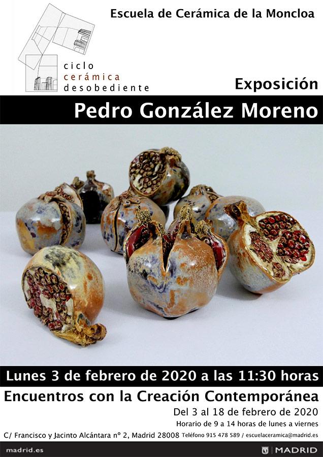 Exposición de Pedro González Moreno