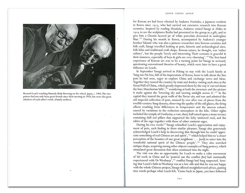 Páginas interiores del libro Bernard Leach. Life & Work