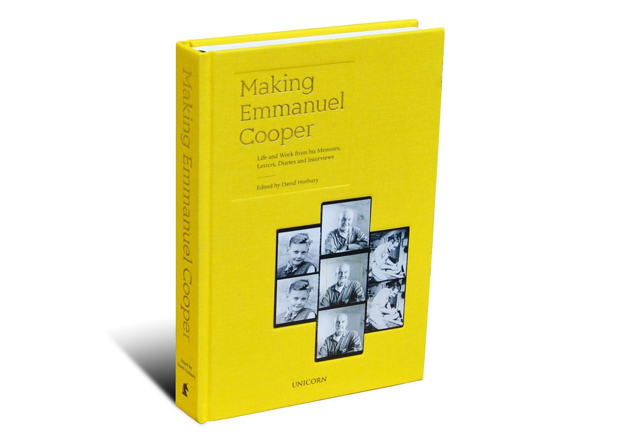 Portada del libro sobre Emmanuel Coper
