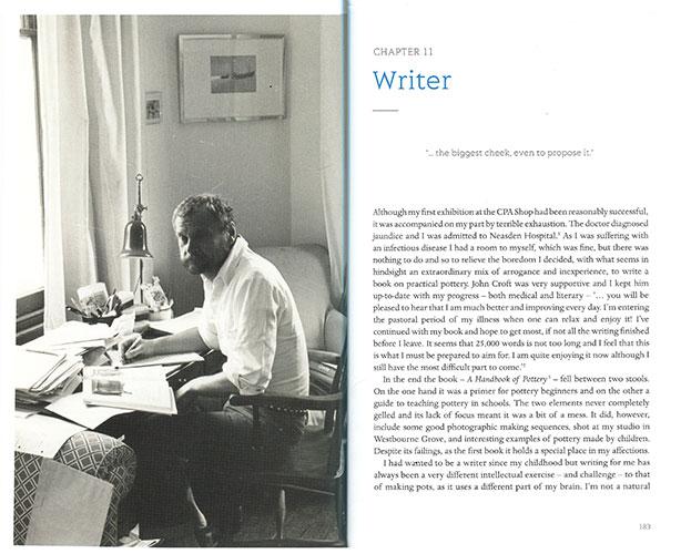Páginas interiores del libro sobre Emmanuel Coper