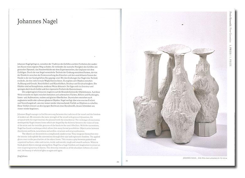 Páginas interiores del libro WesterWald Preis 2019