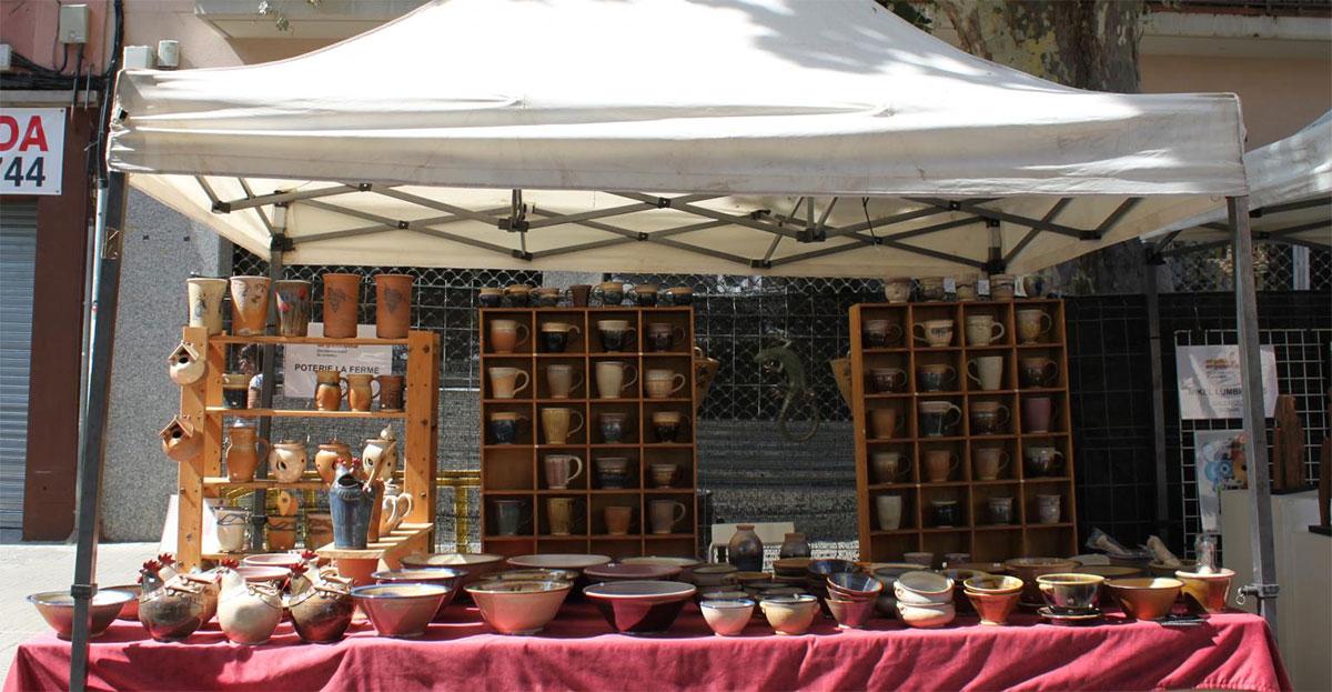 Feria de cerámica Argilla Argentona