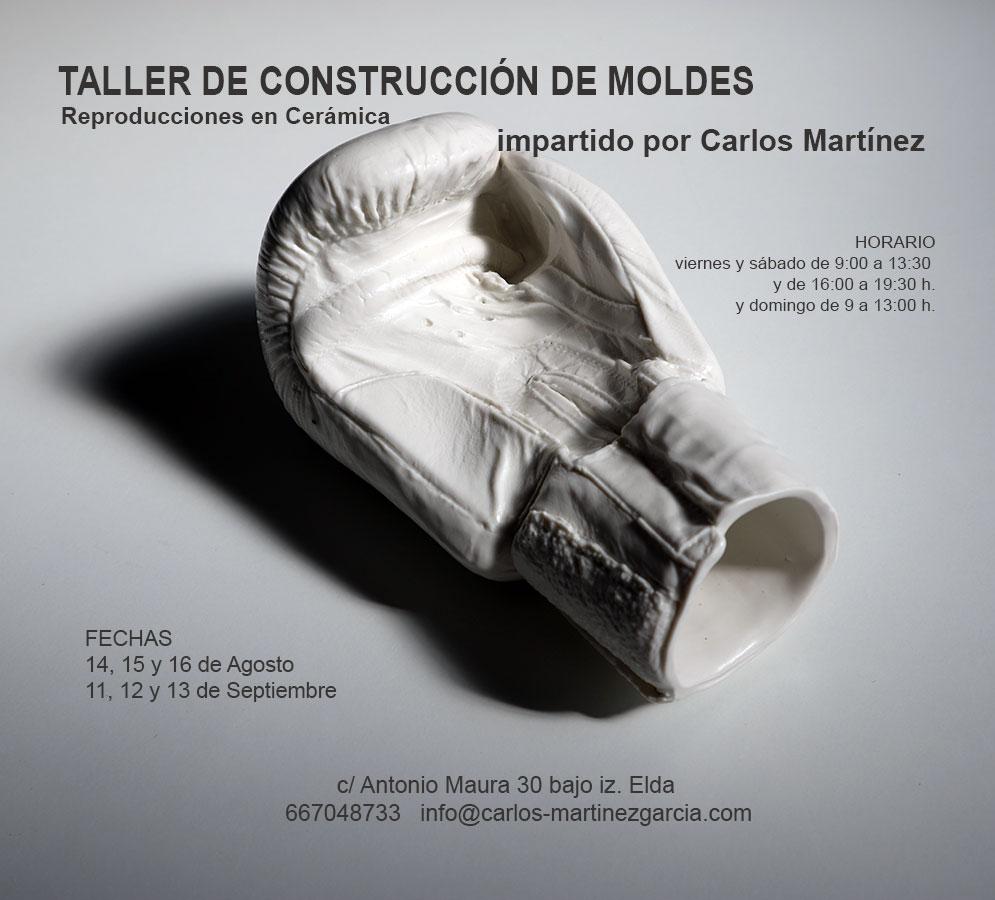Curso de cerámica con Carlos Martinez