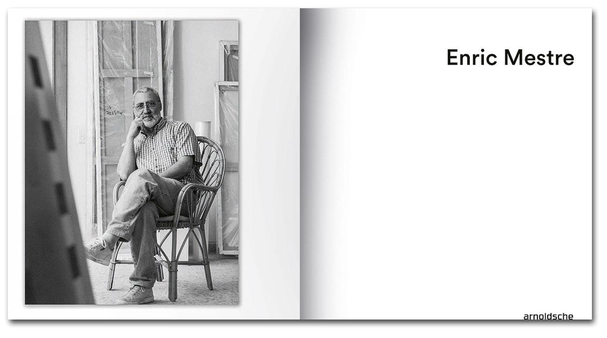 Páginas interiores del libro Enric Mestre