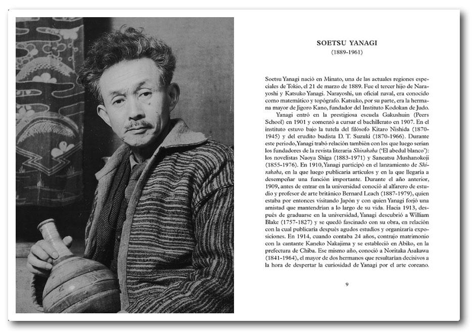 """Páginas interiores del libro """"La belleza del objeto cotidiano"""", de Soetsu Yanagi"""