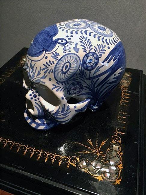 Pieza de cerámica del Centro Cerámico de Talavera