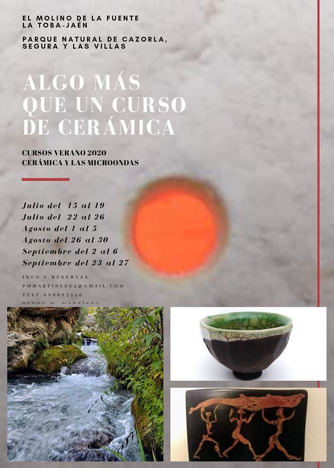 Cursos de cerámica en horno microondas con Pedro Martínez