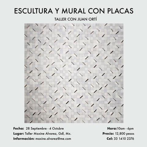 Curso de cderámica de Juan Ortí