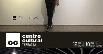 Cartel de la exposición de Alberto Bustos