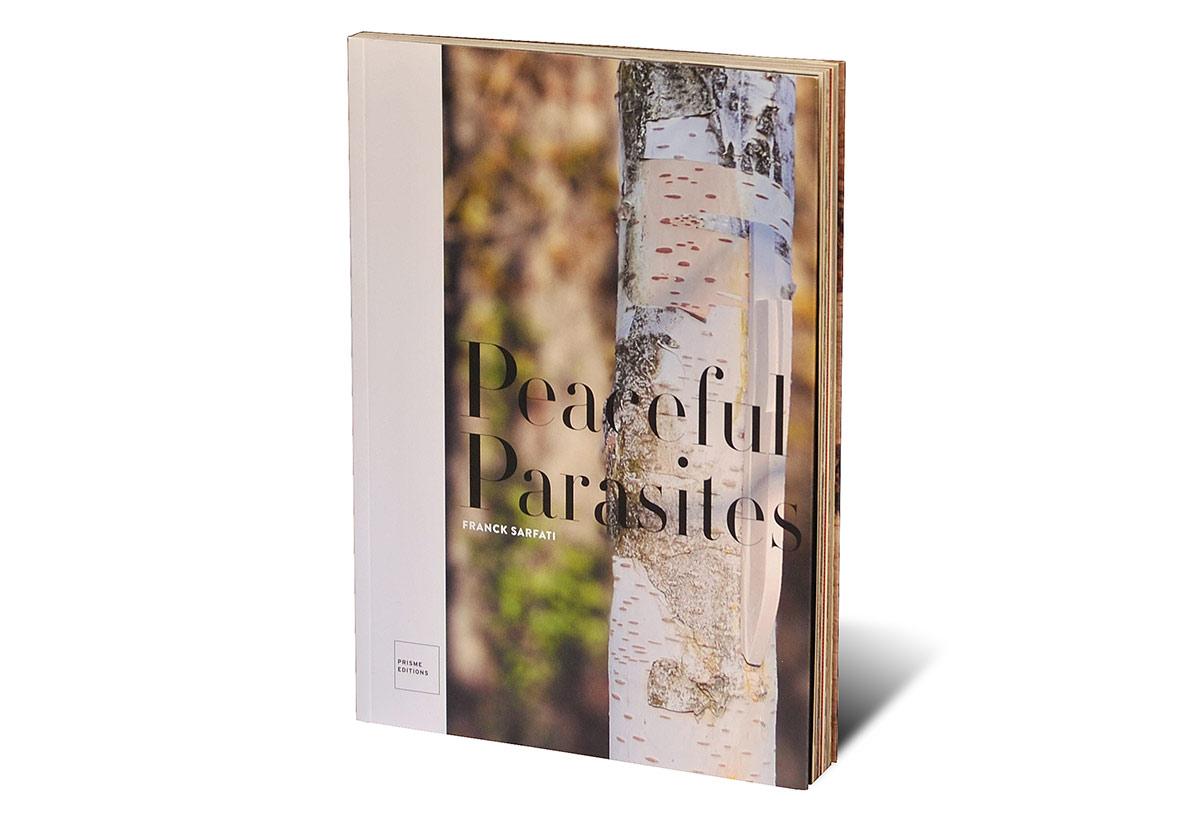 Portada del libro Peaceful Parasites. Franck Sarfati