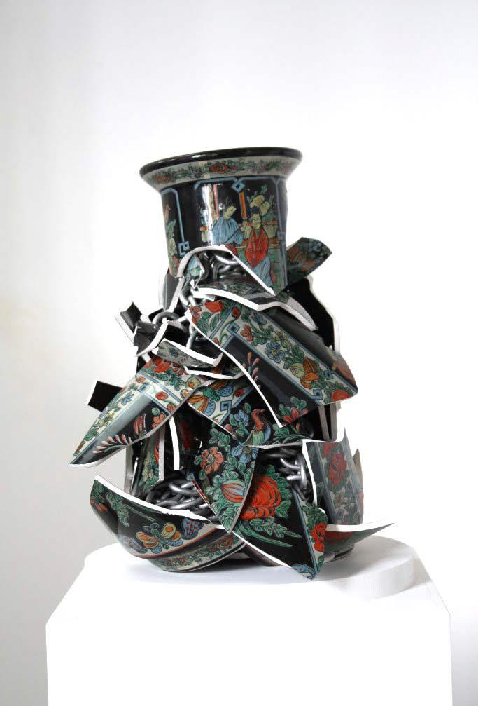 Escultura cerámica de Alberto Gianfreda
