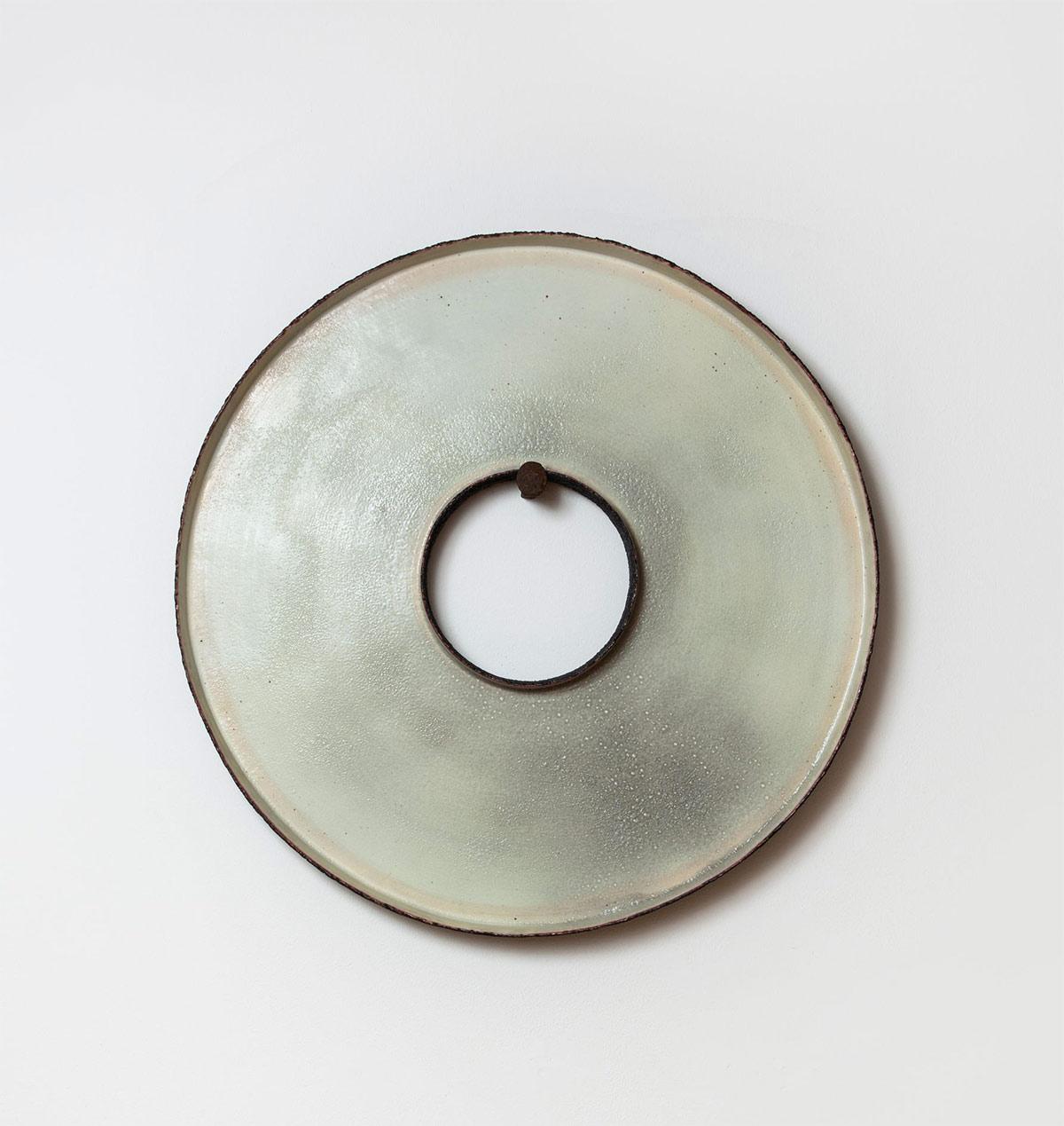 Pieza de cerámica de Kazuhito Nagasawa