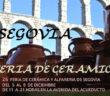 Feria de cerámicca de Segovia