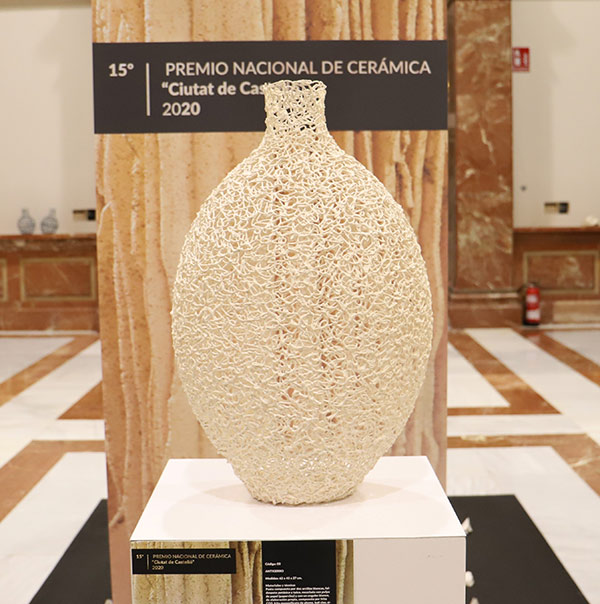 Escultura cerámica de Rafael Galindo