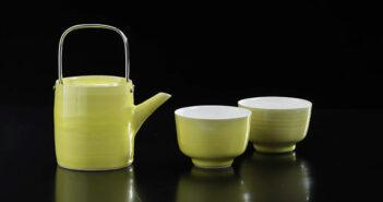 Juego de té de cerámica de Rupert Spira