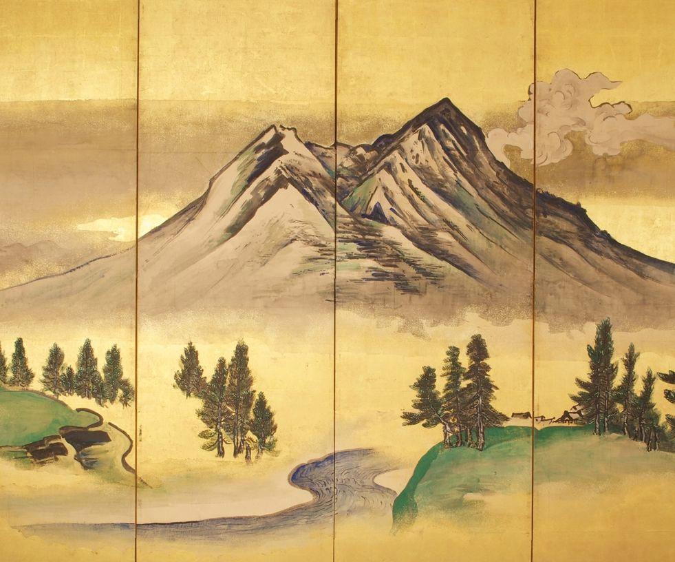Pintura de TANI BUNCHŌ