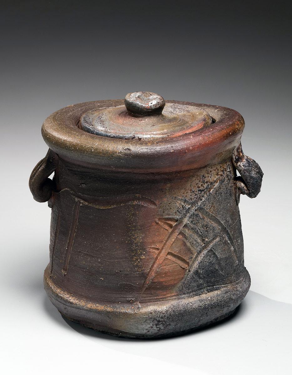 Pieza de cerámica de KANESHIGE TŌYŌ