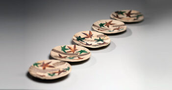 Piezas de cerámica de Kitaōji Rosanjin