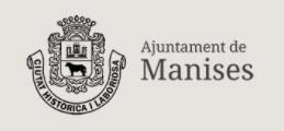 escudo del Ayuntamiento de Manises