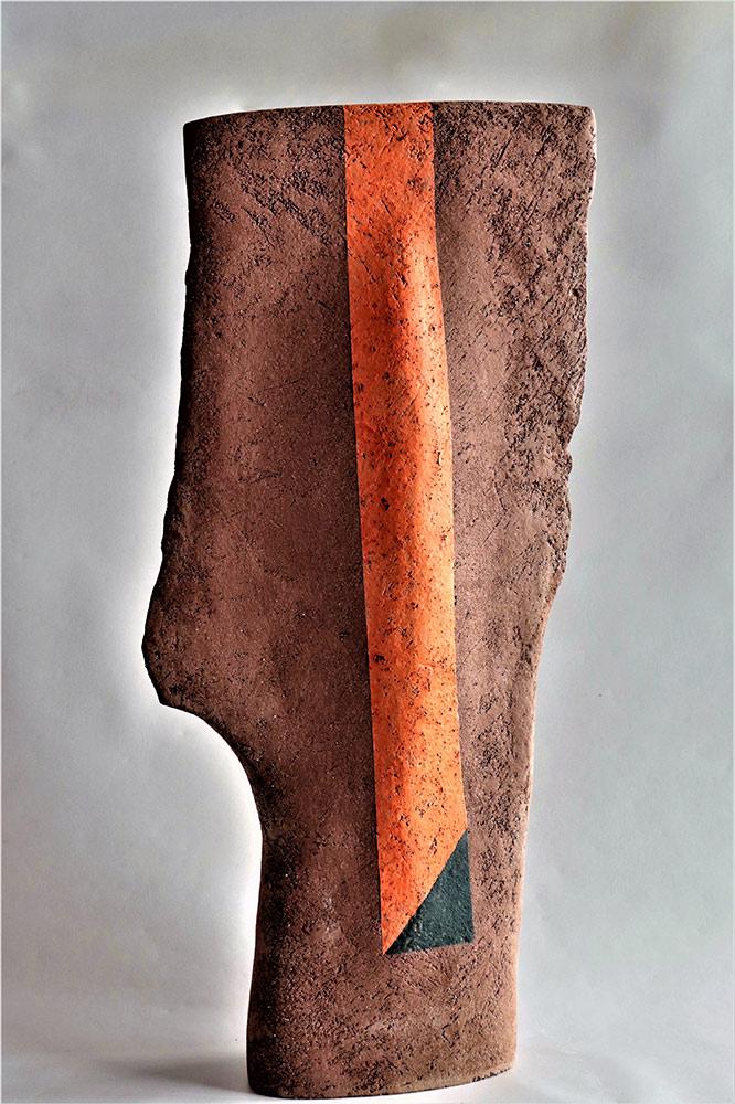 Escultura cerámica de Antonia Carbonell