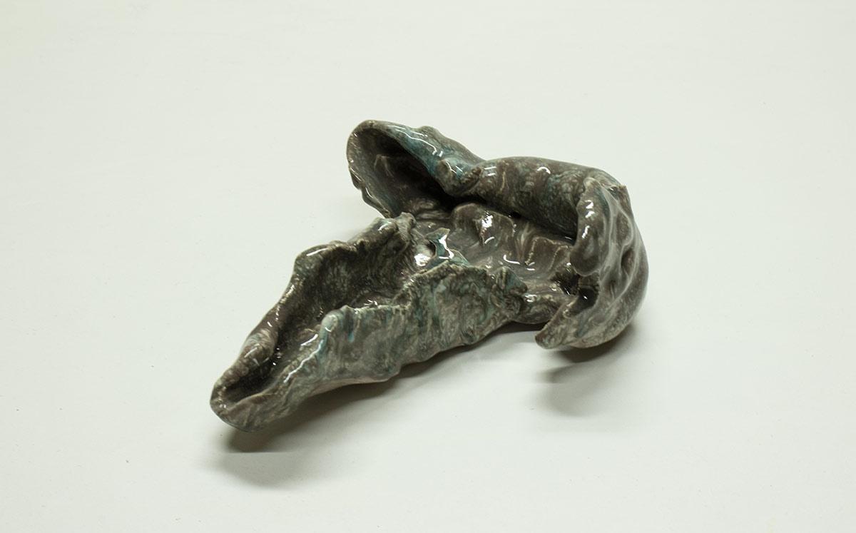 Escultura cerámica de Michele Ciacciofera