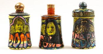 Pieza de cerámica de Roberto Lugo
