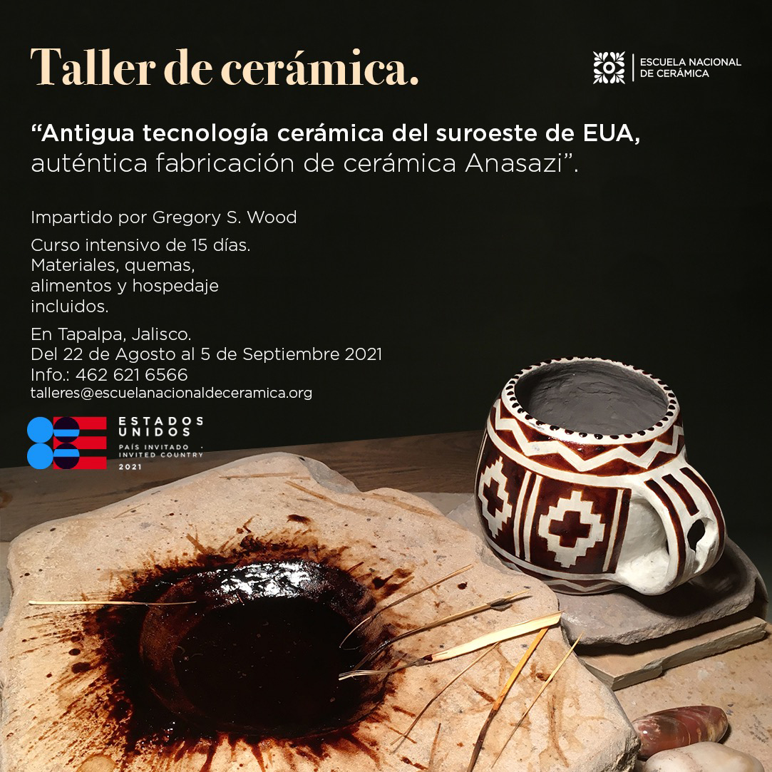 Cursos en la Escuela Nacional de Cerámica de México