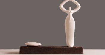 Escultura cerámica de Esperanza Romero