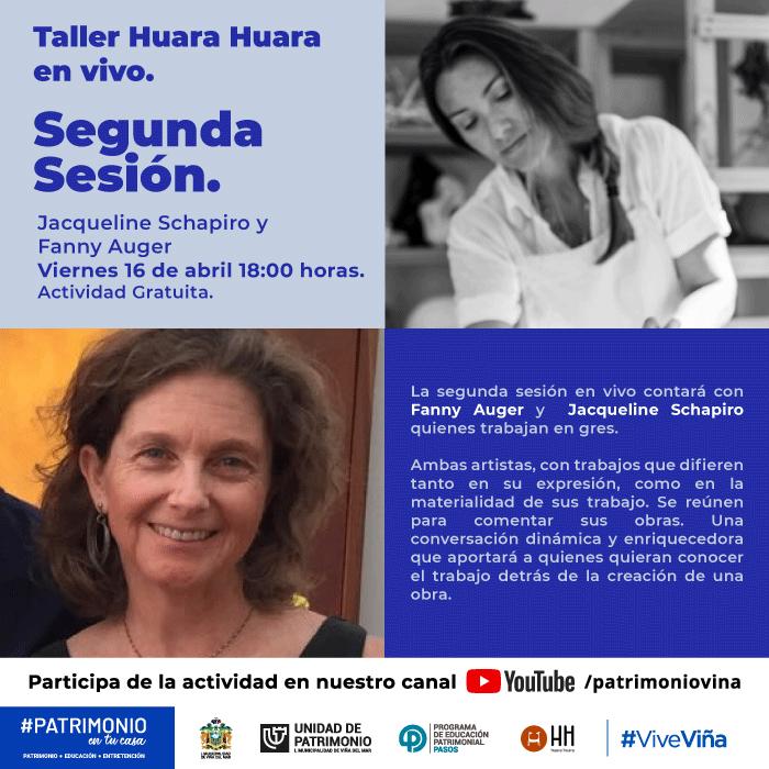 Eventos on-line en Taller Huara-Huara