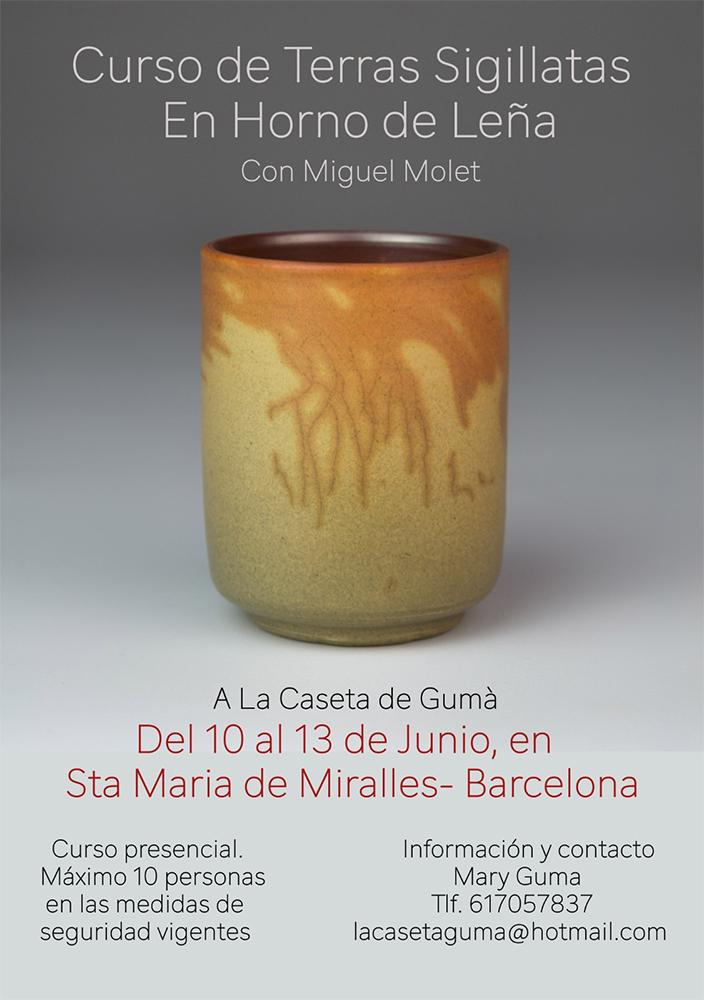 Curso de terras sigillartas con Miguel Molet