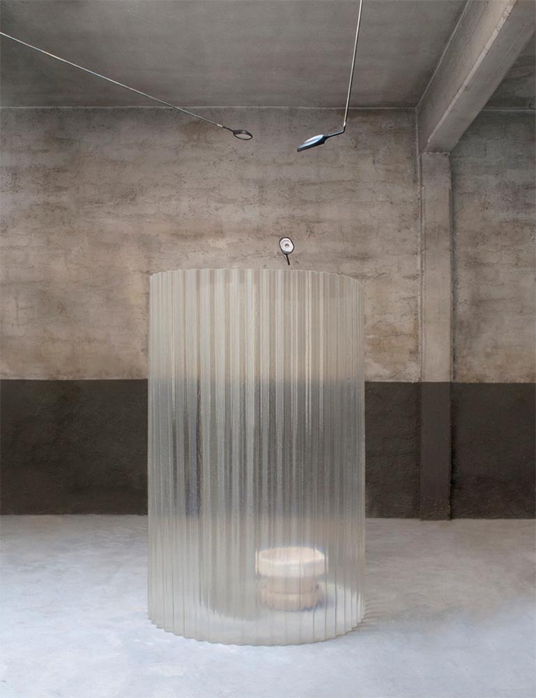 Escultura cerámica de Gianluca Brando