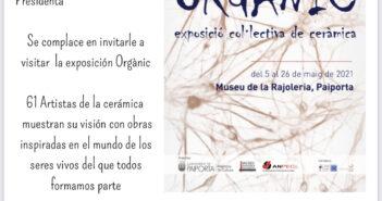 Exposición de cerámica de ANPEC