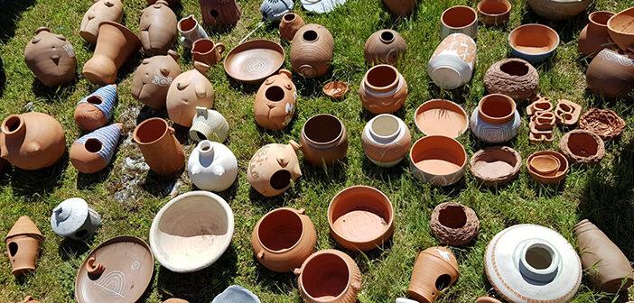 Primer encuentro de mujeres ceramistas en Abioncillo