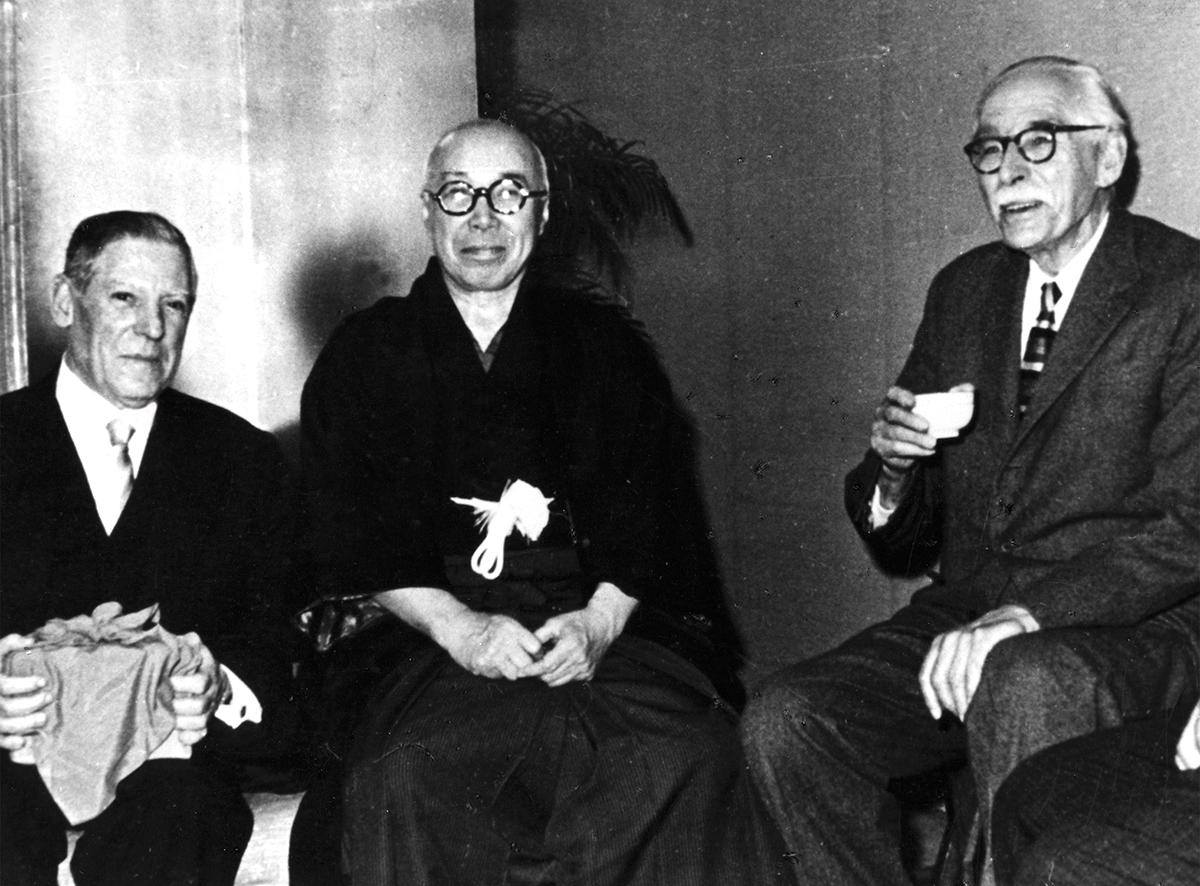 Shoji Hamada y Josep Llorens Artigas