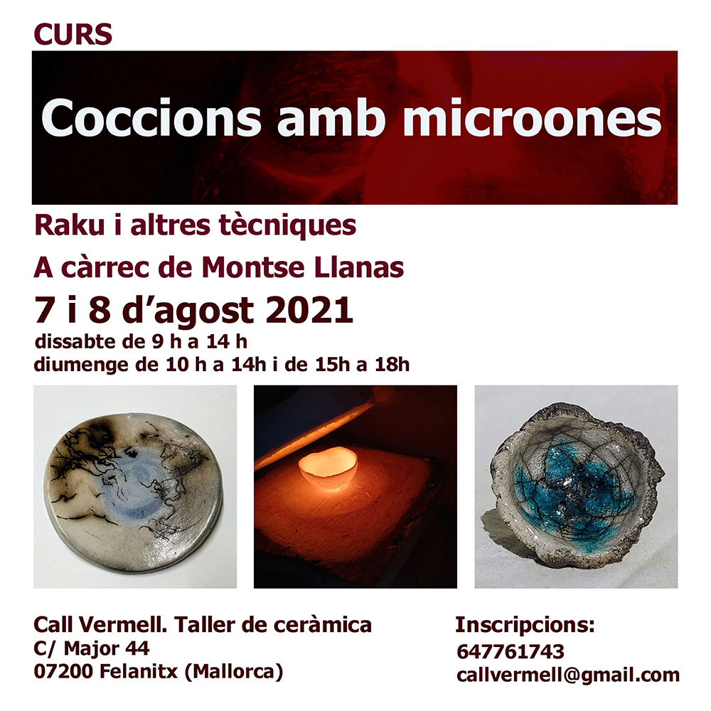 Cursos de cerámica con Montse Llanas