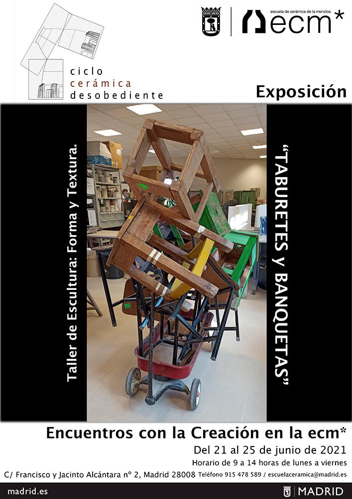 Exposición en la Escuela de Cerámica de la Moncloa