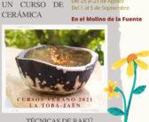 Cursos de cerámica en El Molino de la Fuente