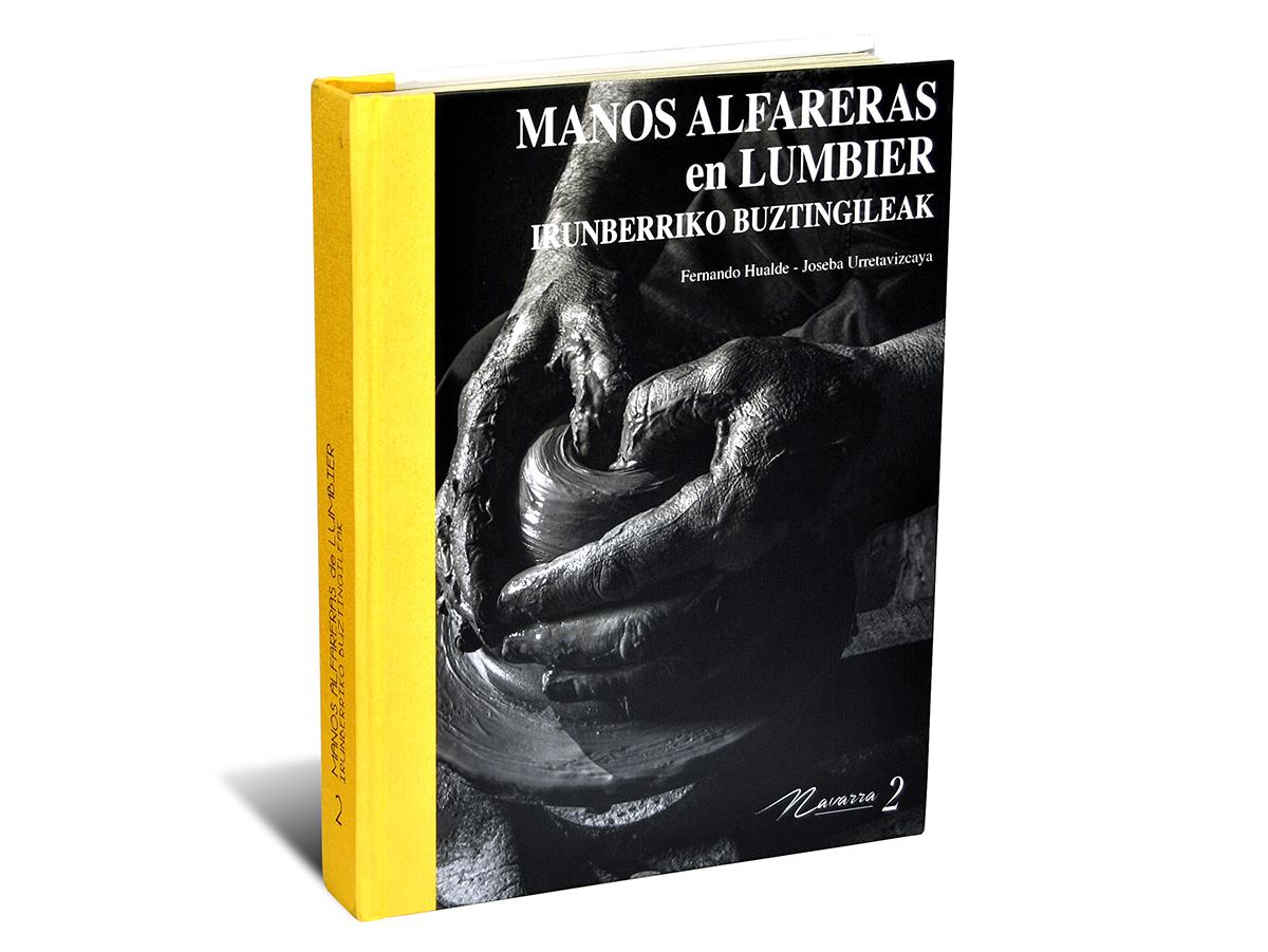 Libro sobre la alfarería de Lumbier, Navarra