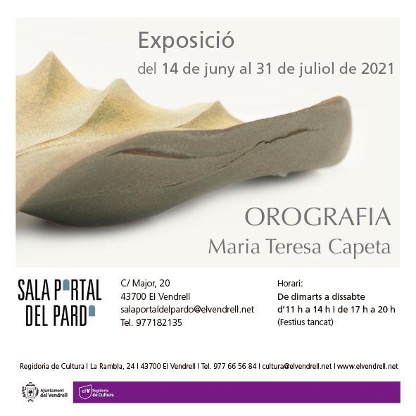 Exposición de cerámica de Maria Teresa Capeta