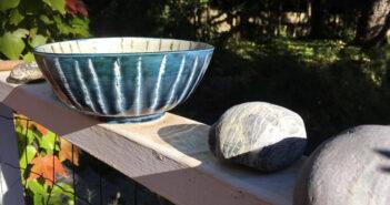 Pieza de cerámica de Richard Armstrong