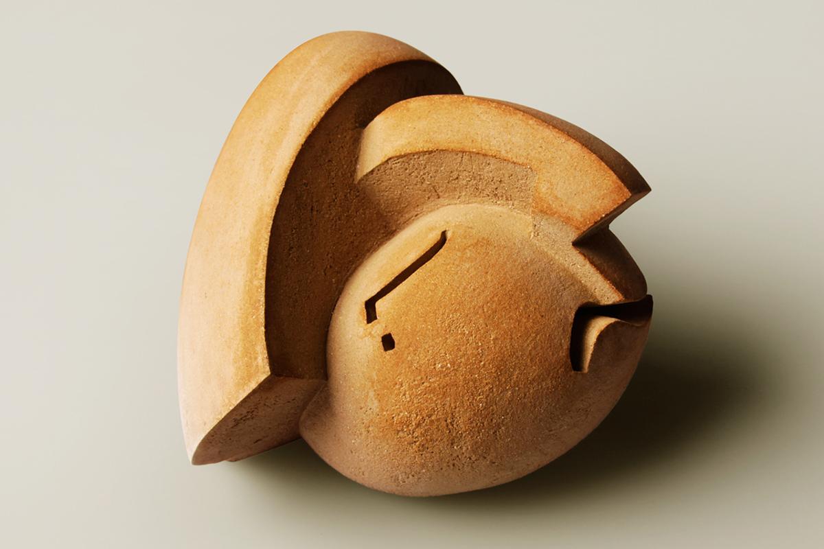 Escultura cerámica de Thomas Benech