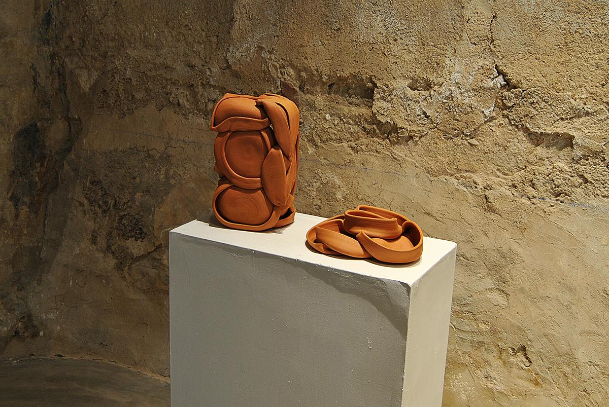 Pieza de cerámica de Alejandro Fernández Espejel