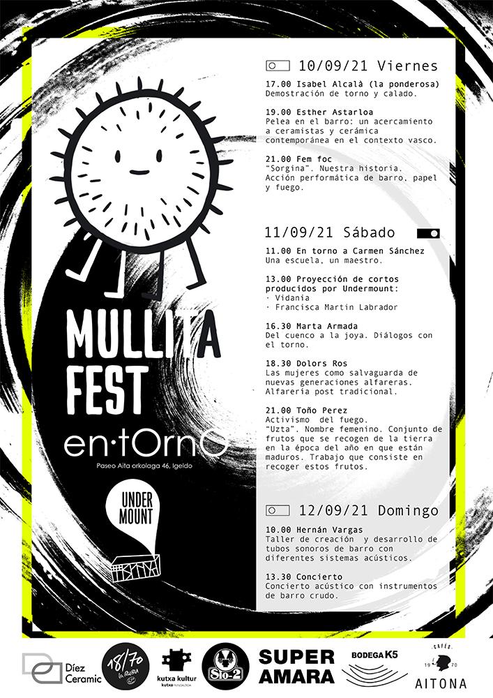 Cartel de Mullita Fest 2021