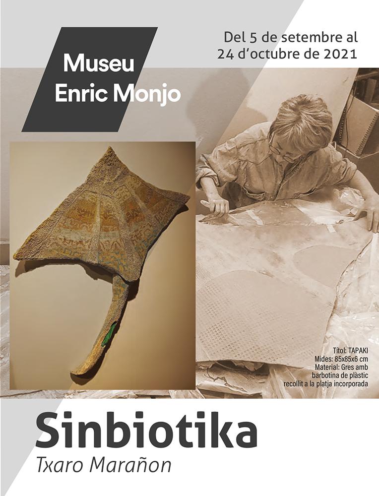 Cartel de la exposición de la ceramista Txaro Marañón
