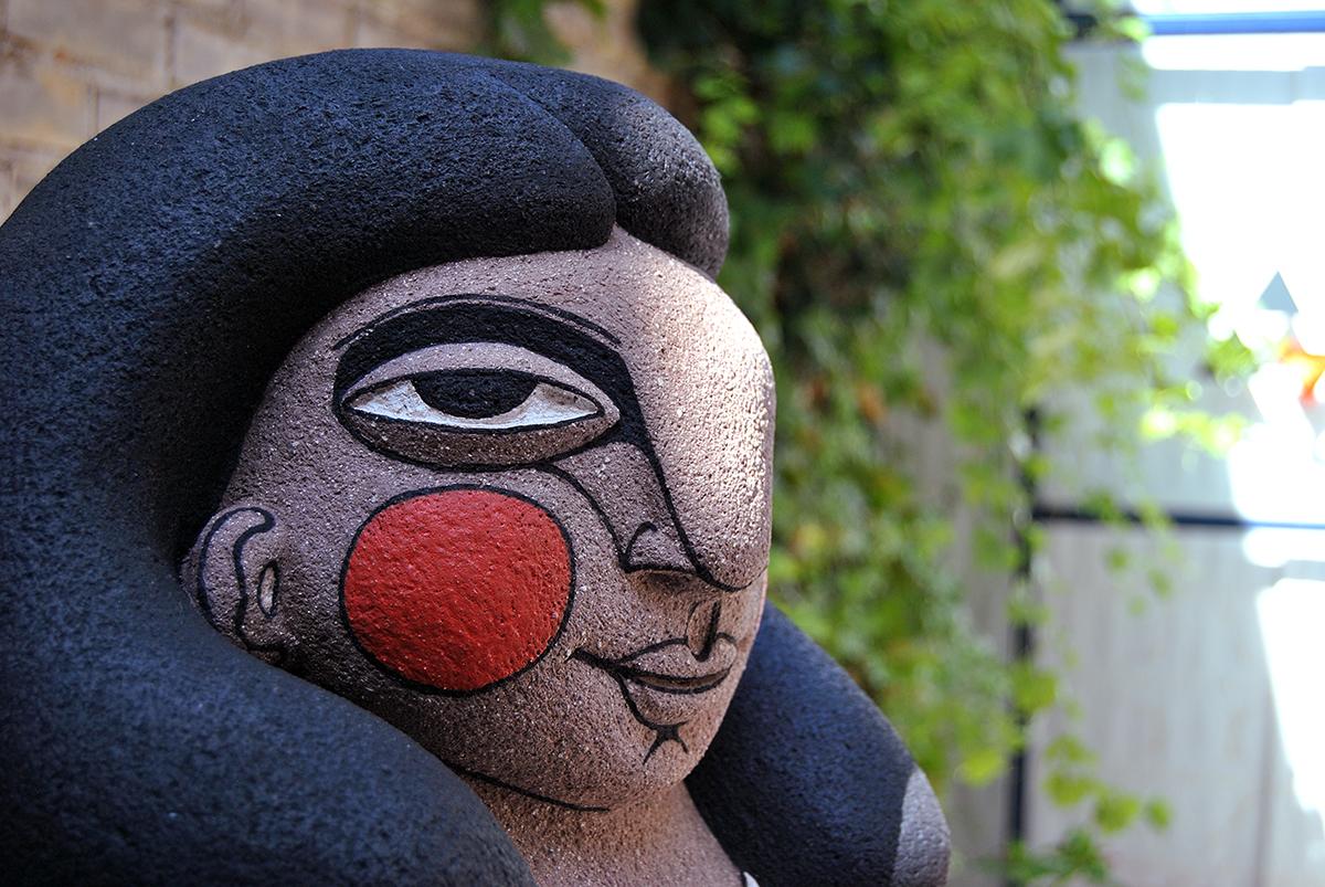 Escultura cerámica de Janina Myronova
