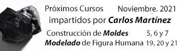Carlos Martínez - Cursos de moldes y modelaje de la figura humana - Elda