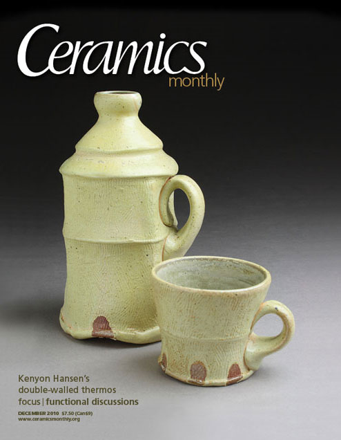 Ceramics Monthly, Dic. 2010