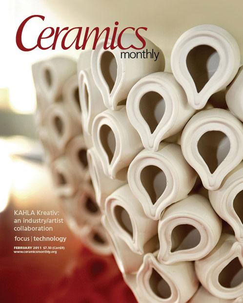 Ceramics Monthly, Febrero de 2011