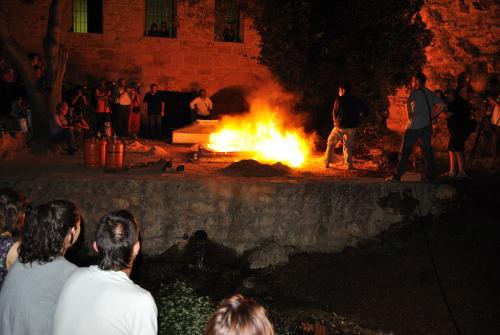 Domadores de fuego 2010. Cocción de Alberto Hernández